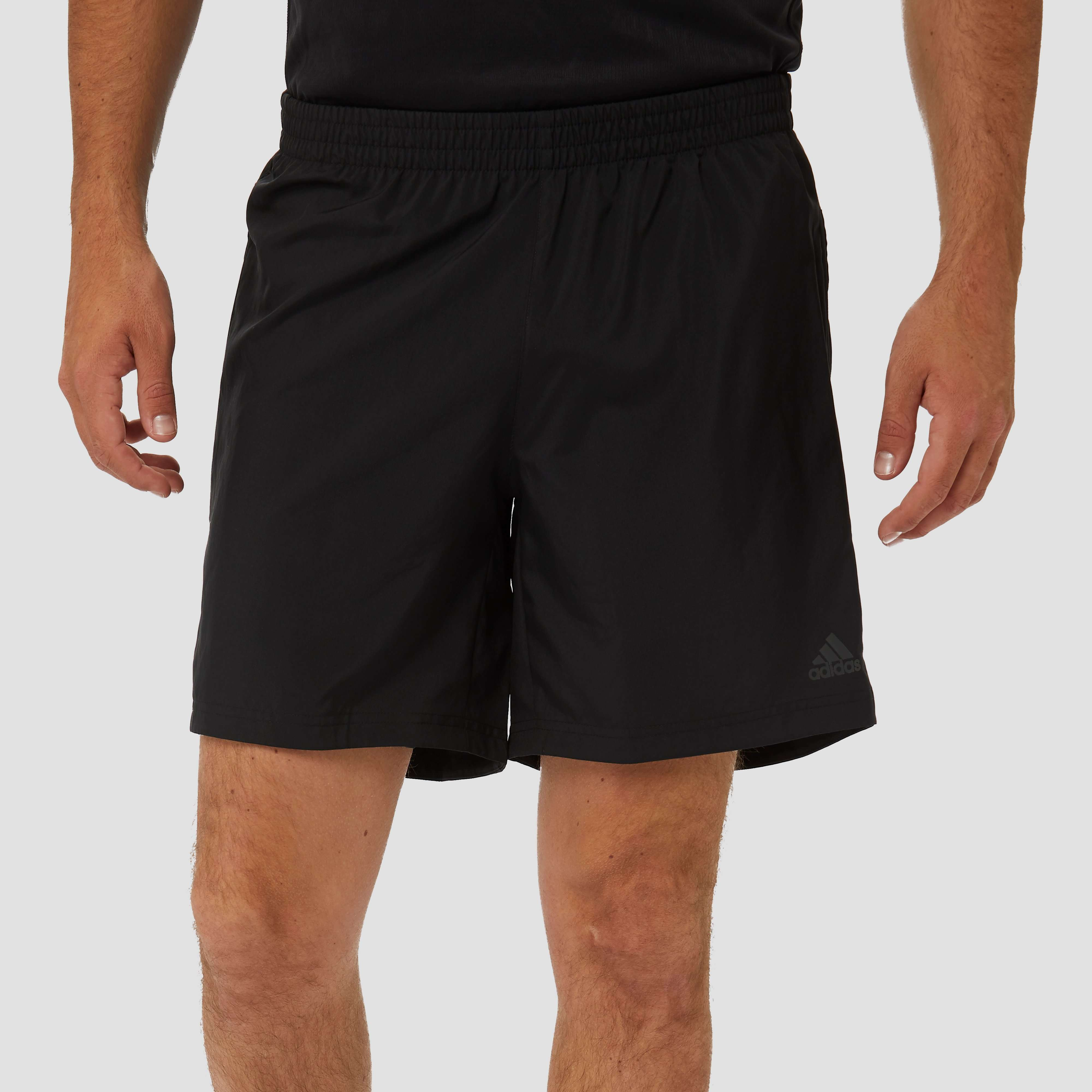ADIDAS OWN THE RUN HARDLOOPSHORT ZWART HEREN | Perrysport
