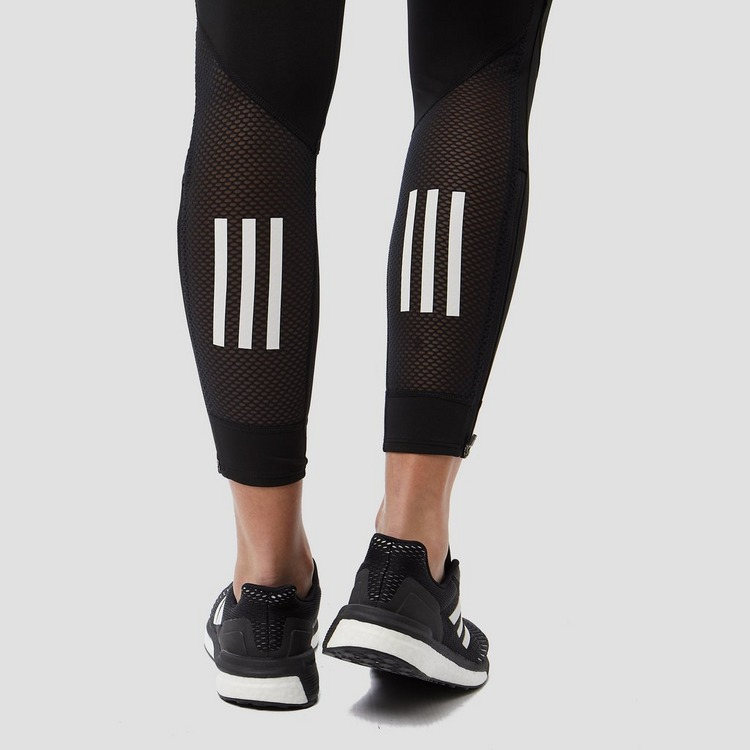 ADIDAS OWN THE RUN HARDLOOPTIGHT ZWART DAMES