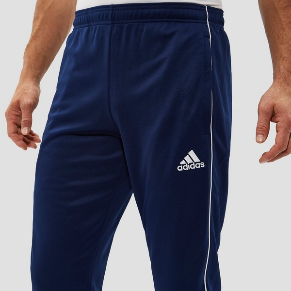ADIDAS CORE18 TRAININGSBROEK BLAUW HEREN