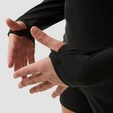 NIKE DRI-FIT ACADEMY PRO DRILL VOETBALTOP ZWART/WIT DAMES