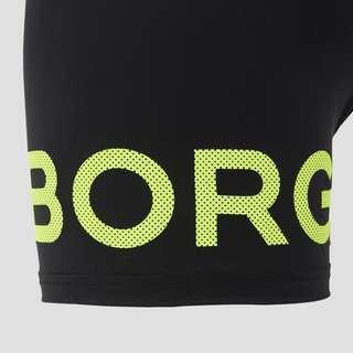 BJORN BORG L.A BORG PERFORMANCE BOXERSHORT ZWART/GEEL HEREN