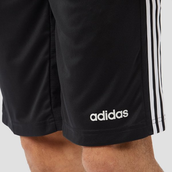 ADIDAS DESIGN 2 MOVE CLIMACOOL 3-STRIPES SPORTBROEKJE ZWART HEREN