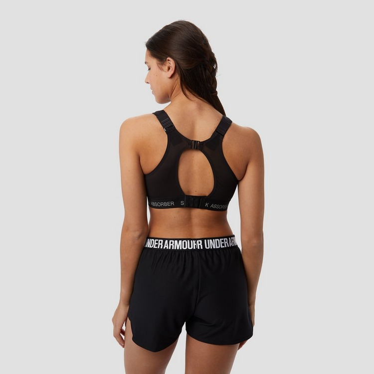 SHOCKABSORBER ULTIMATE RUN PADDED SPORTBEHA ZWART DAMES