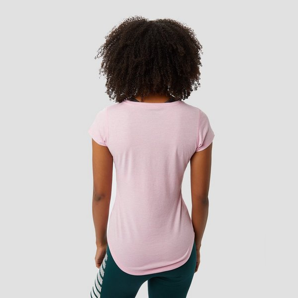 9834d46721d PUMA HEATHER CAT SPORTSHIRT ROZE DAMES | Perrysport