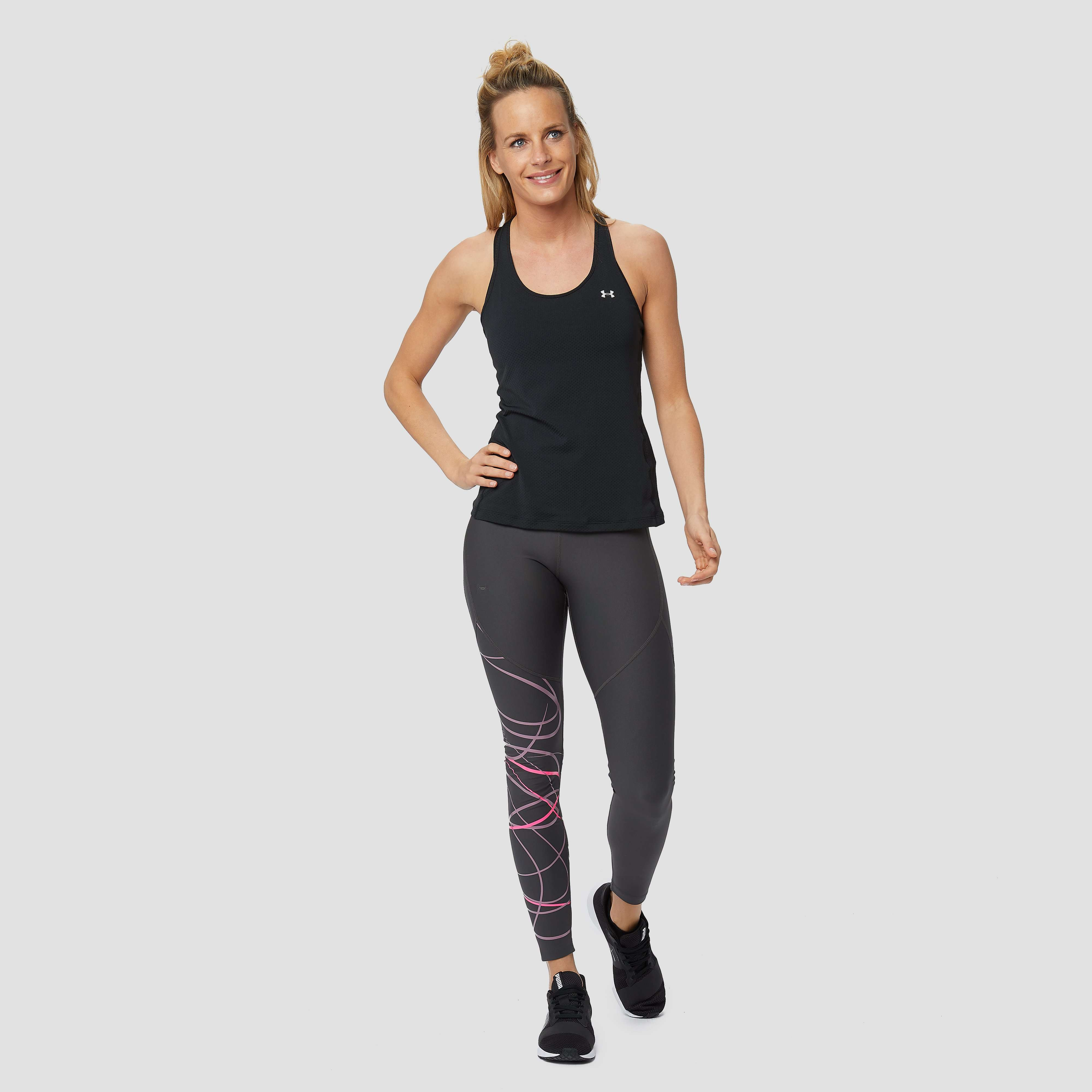 UNDER ARMOUR HEATGEAR RACER SPORTTANKTOP ZWART DAMES