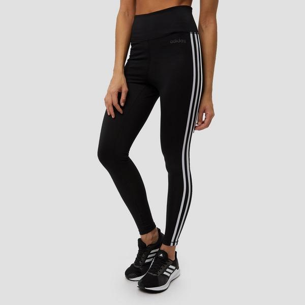 adidas legging zwart 3 stripes