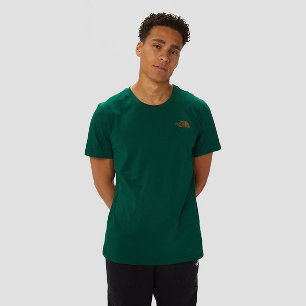 THE NORTH FACE SIMPLE DOME SHIRT GROEN HEREN