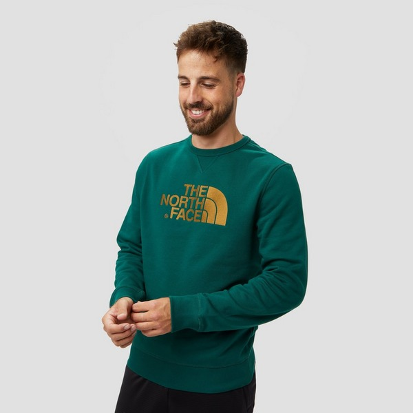 THE NORTH FACE DREW PEAK CREW SWEATER GROEN HEREN