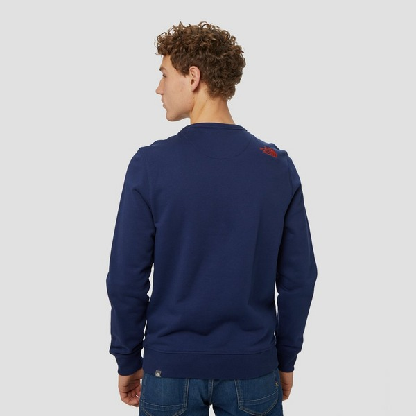 THE NORTH FACE DREW PEAK CREW SWEATER BLAUW HEREN