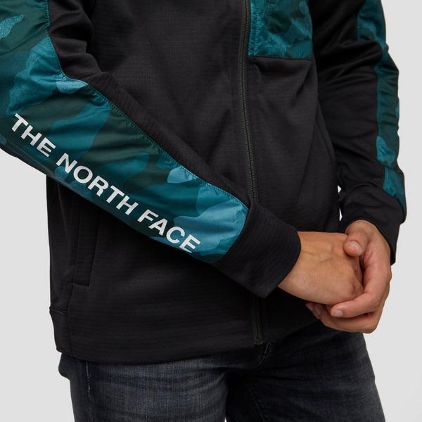 THE NORTH FACE TRAIN N LOGO OVERLAY OUTDOOR JAS ZWART/GROEN HEREN