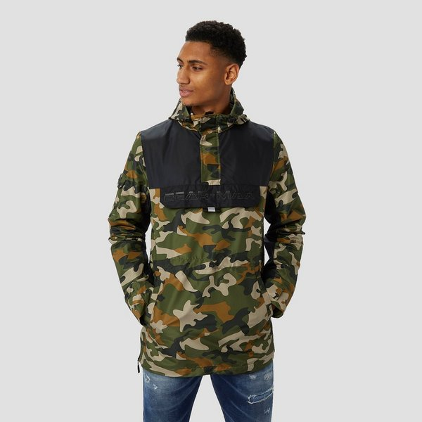 0986c224696 BEAR MAX WINDBREAKER JAS 1/2-RITS GROEN HEREN | Perrysport