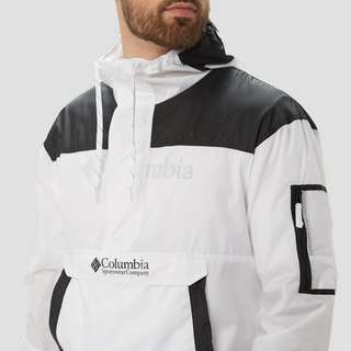 COLUMBIA CHALLENGER WINDBREAKER OUTDOOR JAS WIT/ZWART HEREN