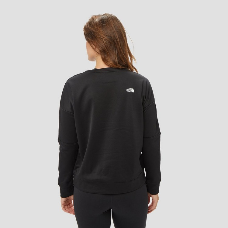 THE NORTH FACE TNL CREW SWEATER ZWART/WIT DAMES