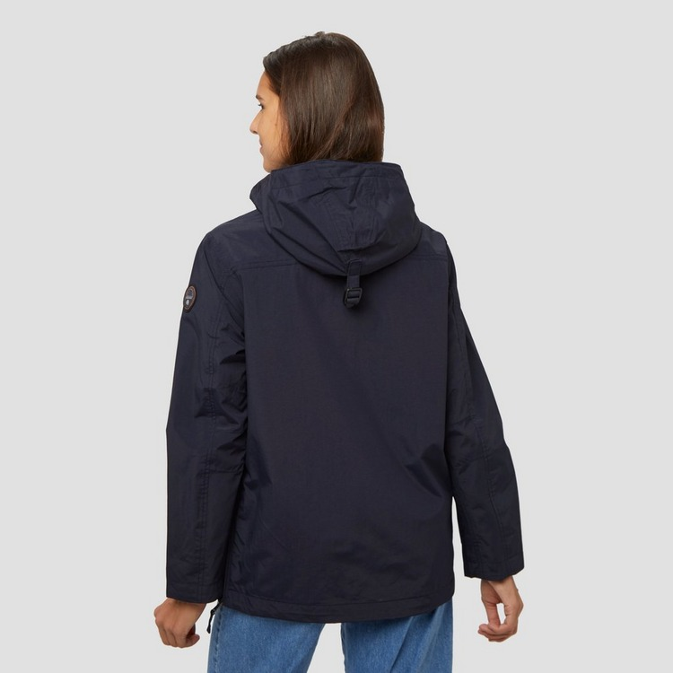 NAPAPIJRI RAINFOREST POCKET JAS BLAUW DAMES
