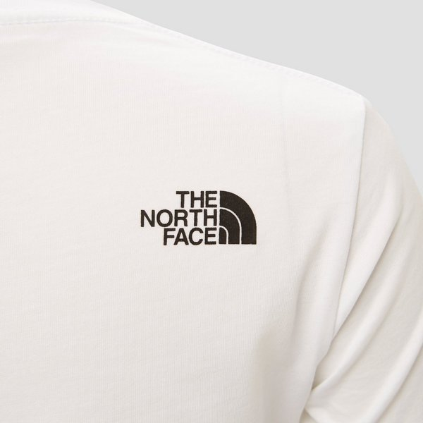 THE NORTH FACE EASY SHIRT WIT KINDEREN