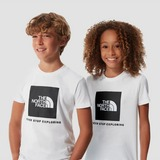 THE NORTH FACE BOX SHIRT WIT KINDEREN
