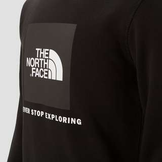 THE NORTH FACE BOX CREW TRUI ZWART KINDEREN