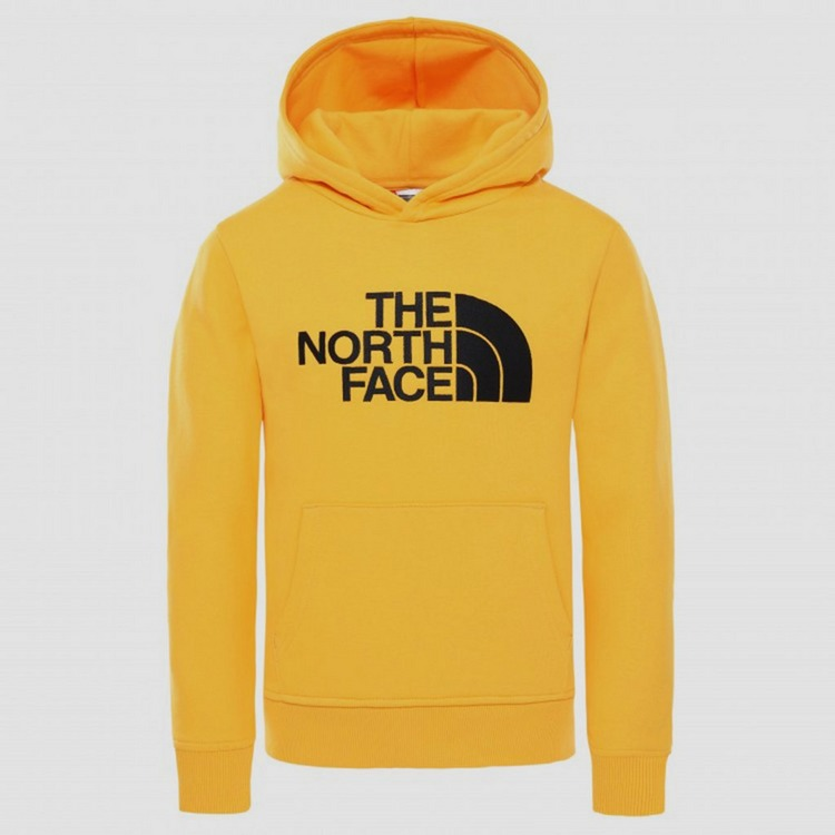 THE NORTH FACE DREW PEAK PULLOVER TRUI GEEL KINDEREN