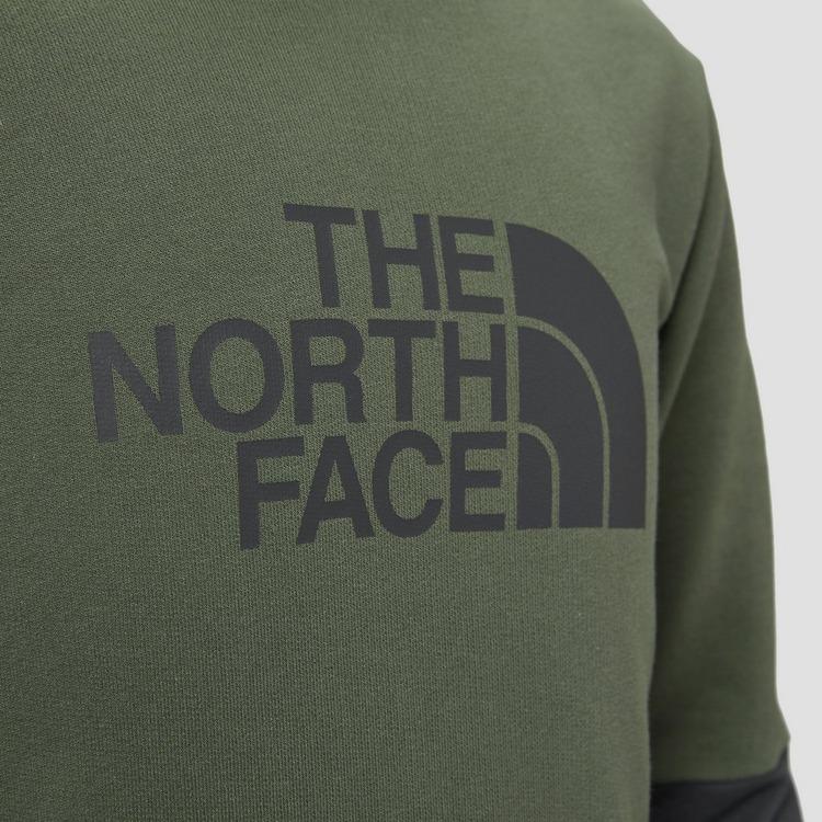 THE NORTH FACE DREW PEAK LIGHT CREW SWEATER GROEN KINDEREN