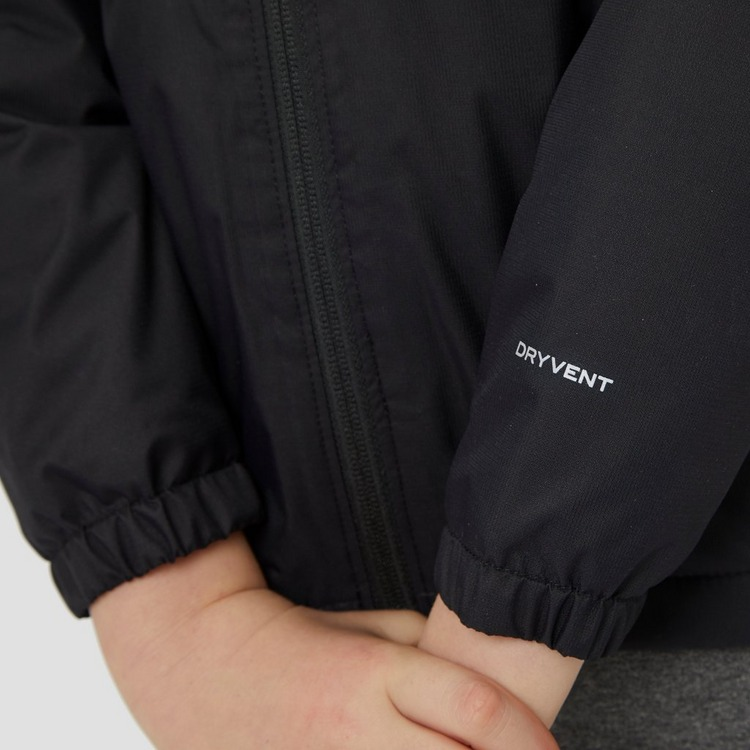 THE NORTH FACE WARM STORM OUTDOORJAS ZWART KINDEREN