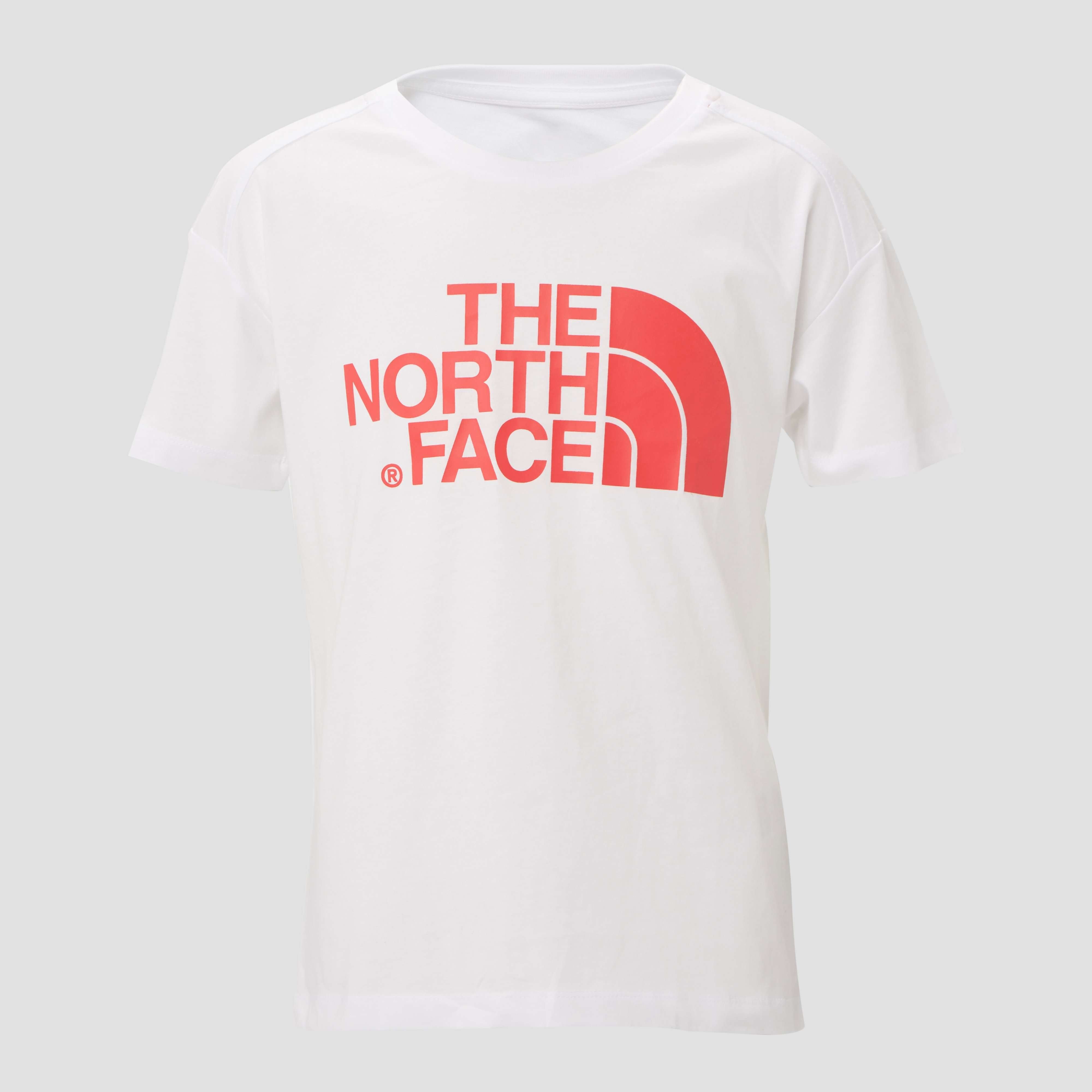 THE NORTH FACE LOGO SHIRT WIT KINDEREN