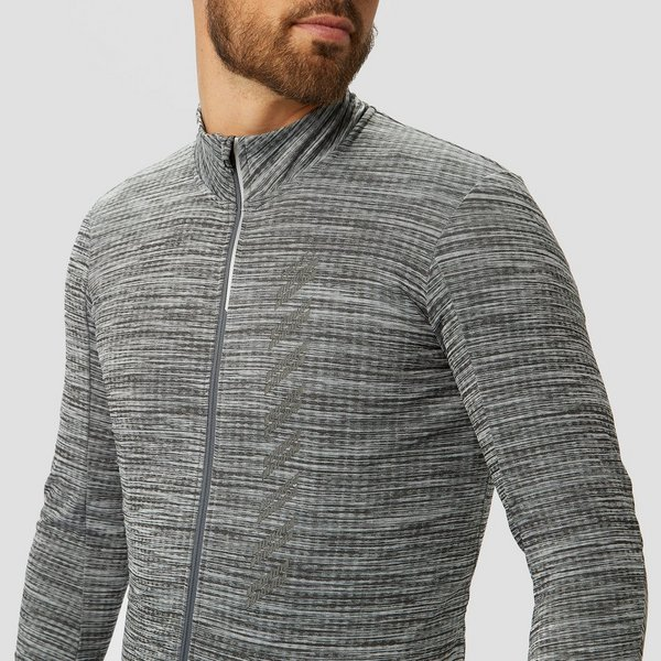 CRAFT VELO THERMAL JERSEY 2.0 FIETSSHIRT GRIJS HEREN
