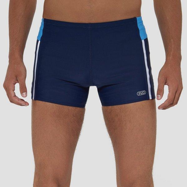 Sport Korte Broek Heren.Inq Carlos Short Tight Zwembroek Zwart Rood Heren Perrysport