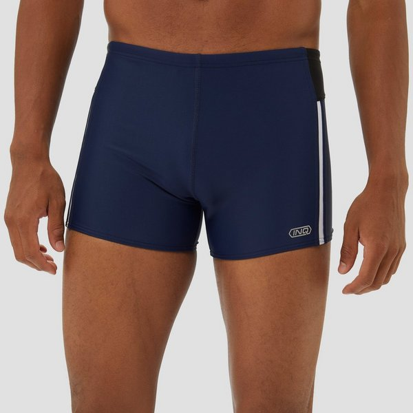 Zwembroek Blauw Heren.Inq Carlos Short Tight Zwembroek Blauw Heren Perrysport