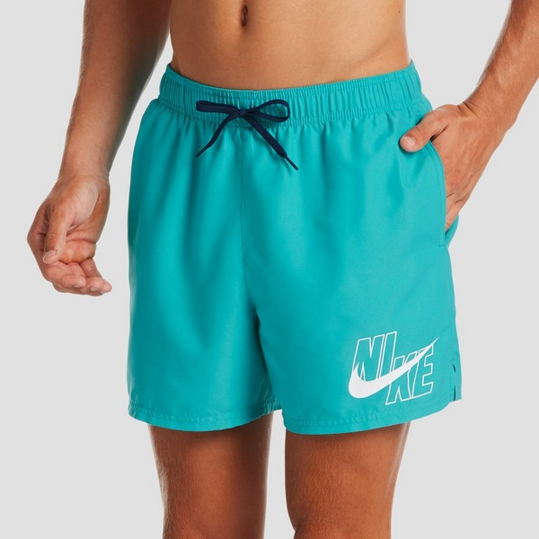 NIKE LOGO 5 VOLLEY BOARDSHORT BLAUW HEREN