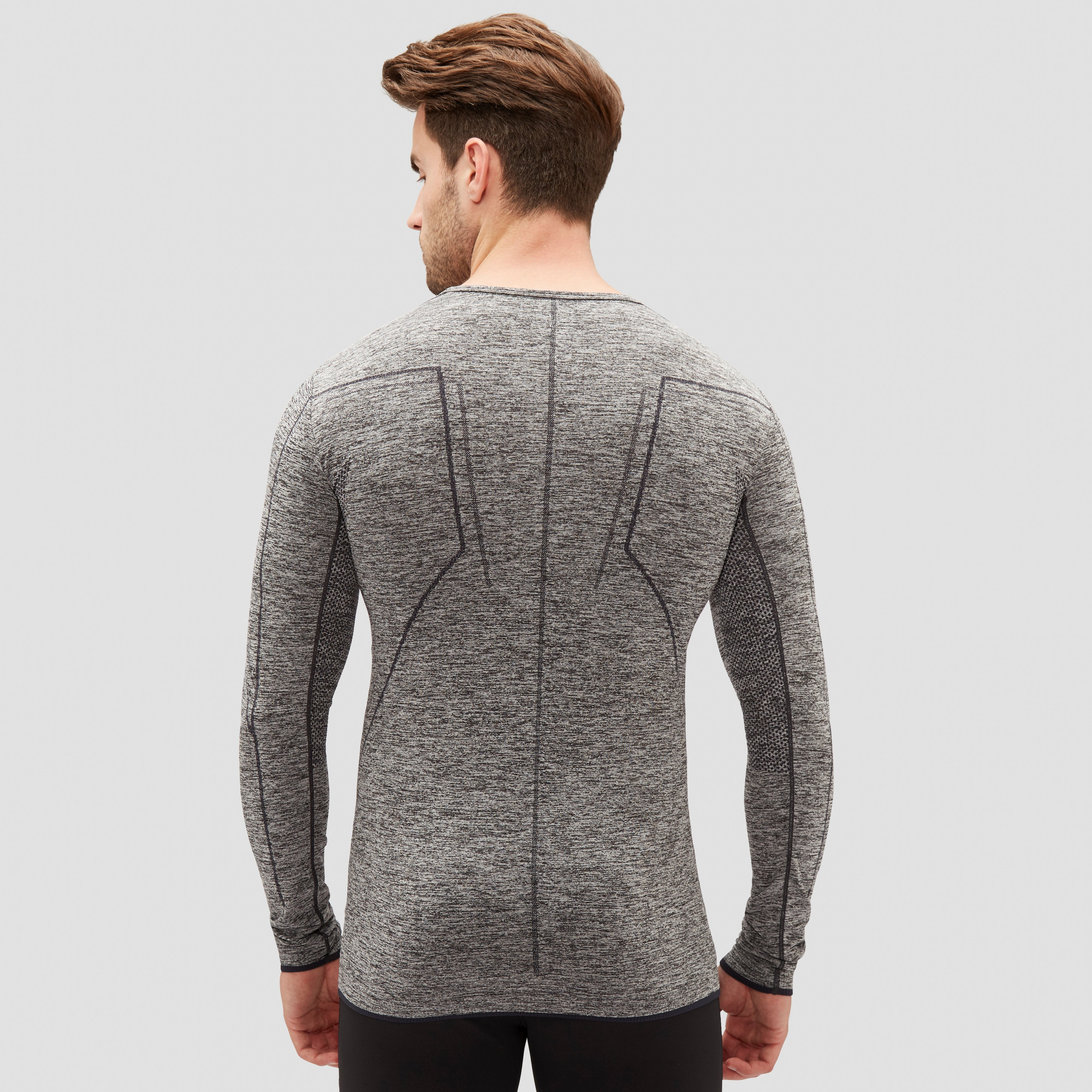 CRAFT ACTIVE COMFORT THERMOSHIRT GRIJS HEREN