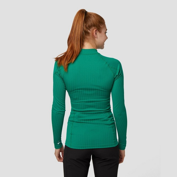 CRAFT PROGRESS BASELAYER THERMOSHIRT GROEN DAMES