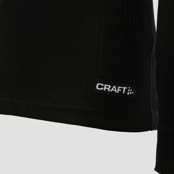CRAFT BASELAYER THERMOSET KINDEREN ZWART