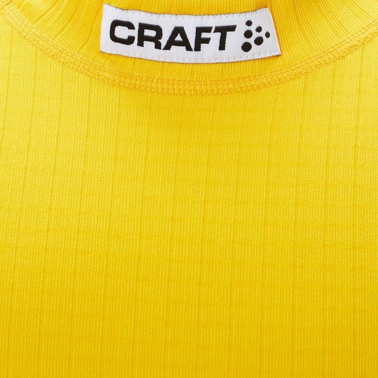 CRAFT PROGRESS BASELAYER THERMOSHIRT GEEL KINDEREN