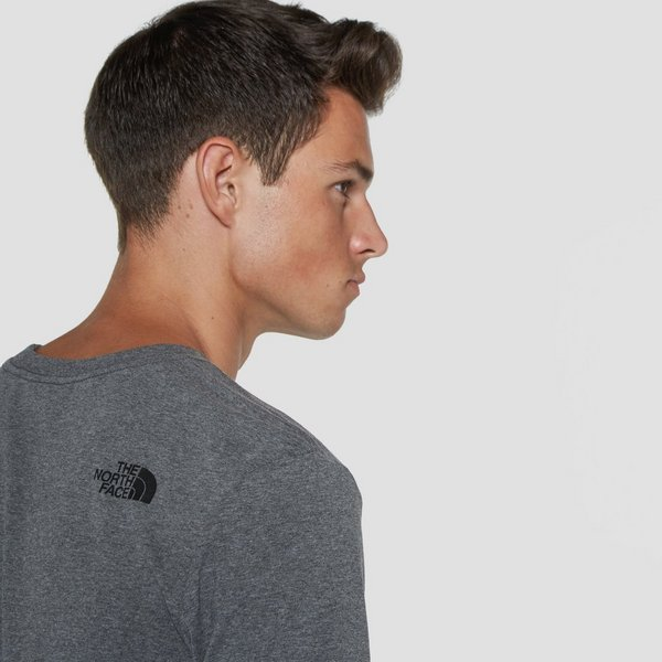 THE NORTH FACE EASY SHIRT GRIJS HEREN