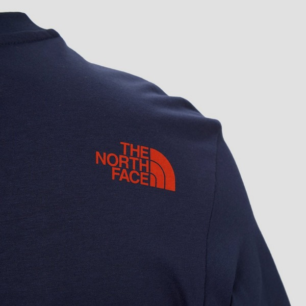 THE NORTH FACE SIMPLE DOME OUTDOORSHIRT BLAUW HEREN