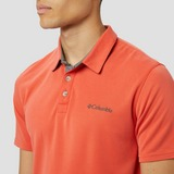 COLUMBIA NELSON POINT OUTDOORPOLO ROOD HEREN