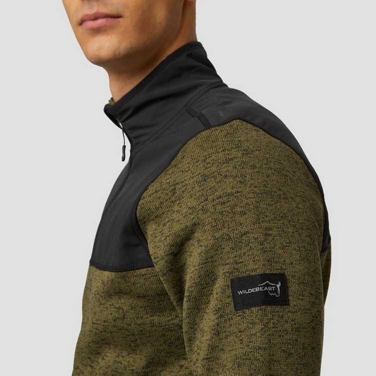 WILDEBEAST INNERCITY FLEECE OUTDOOR JAS GROEN HEREN