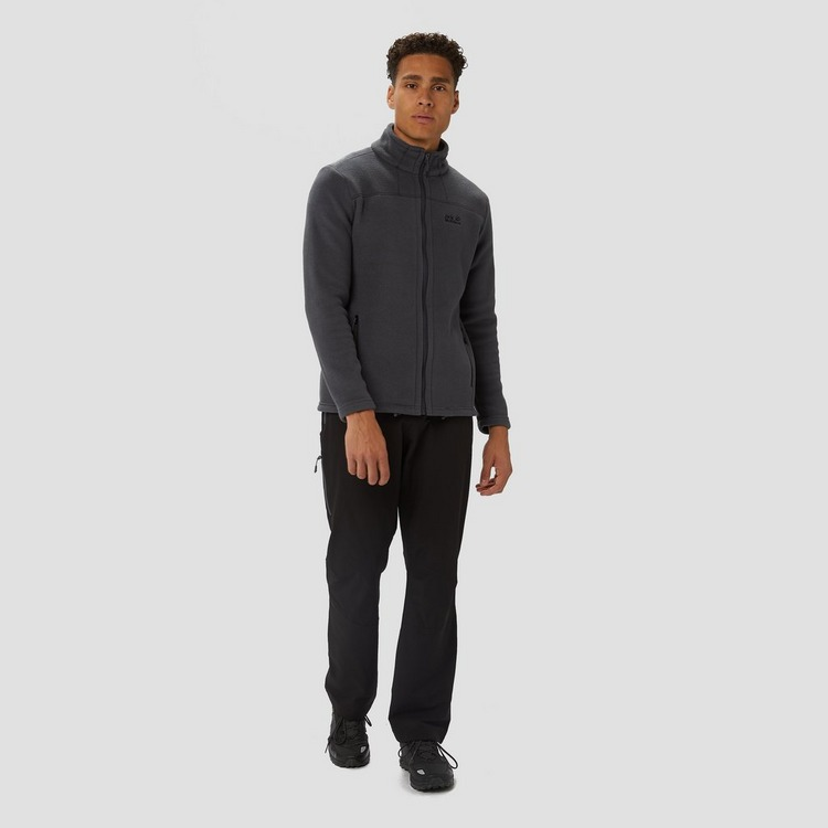 JACK WOLFSKIN THUNDER BAY FLEECE VEST GRIJS HEREN