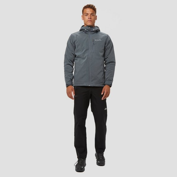 COLUMBIA GATE RACER HEATHER SOFTSHELL JAS GRIJS HEREN