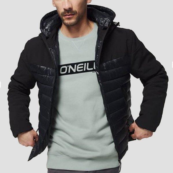 O'NEILL SOFTSHELL OUTDOOR JAS ZWART HEREN