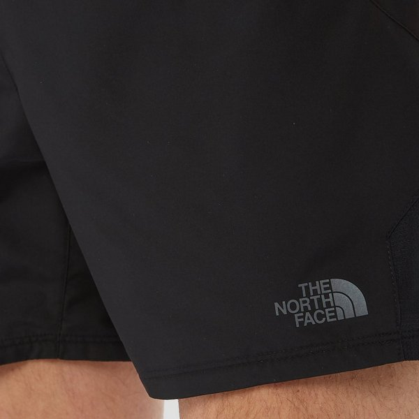 THE NORTH FACE AMBITION LIGHT KORTE OUTDOOR BROEK ZWART HEREN