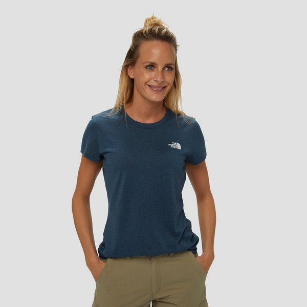 THE NORTH FACE REAXION CREWNECK OUTDOORSHIRT BLAUW DAMES