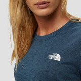 THE NORTH FACE REAXION CREWNECK OUTDOOR SHIRT BLAUW DAMES