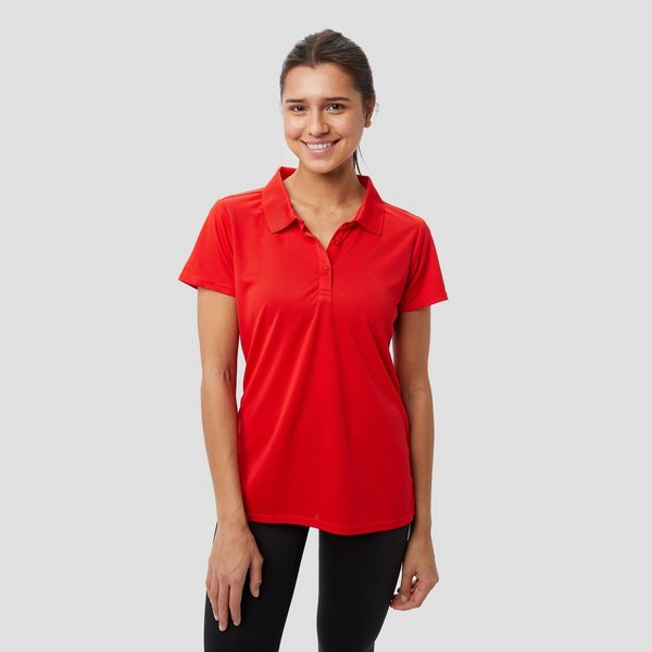 WILDEBEAST DONJA OUTDOOR POLO ROOD DAMES