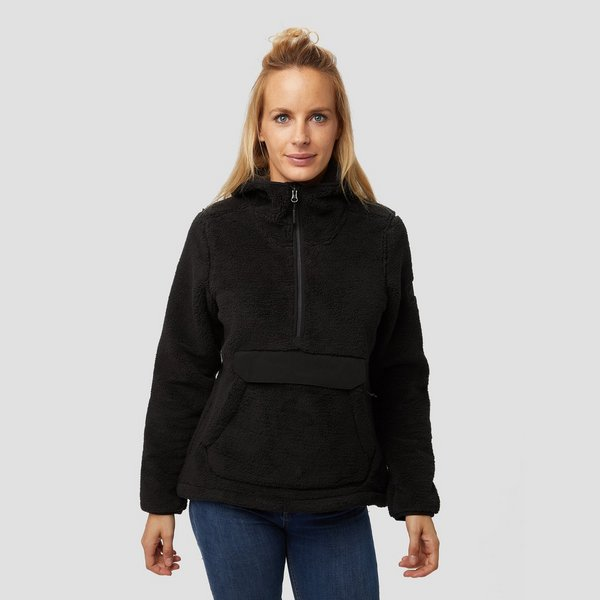 THE NORTH FACE CAMPSHIRE OUTDOOR TRUI 1/2-RITS ZWART DAMES