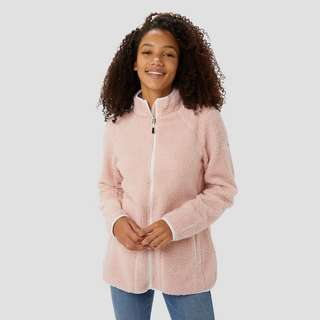 WILDEBEAST SHELBY BORG FLEECE VEST ROZE DAMES