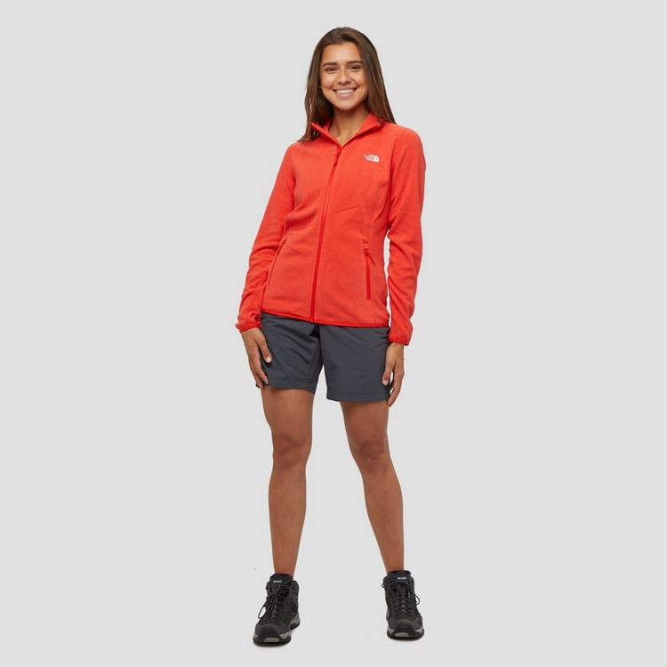 THE NORTH FACE GLACIER POLARTEC FLEECE OUTDOOR VEST ROOD DAMES