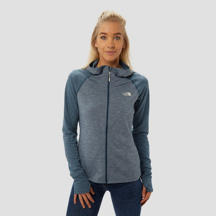 THE NORTH FACE INVENE MIDLAYER OUTDOOR VEST BLAUW DAMES