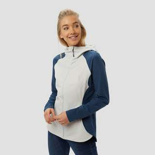 THE NORTH FACE INVENE SOFTSHELL GRIJS/BLAUW DAMES