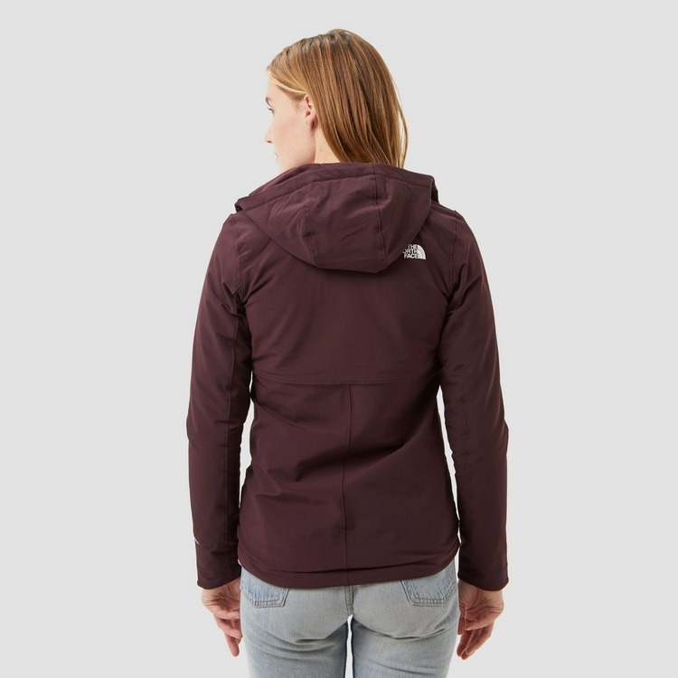 THE NORTH FACE SHELBE RASCHEL SOFTSHELL OUTDOORJAS ROOD DAMES